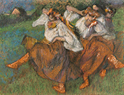 Degas: Russian Dancers and the Art of Pastel at The Getty Center Los Angeles, November 1 - May 7, 2017