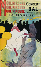 Toulouse-Lautrec on exhibition Illustrates the Belle Epoque at The Phillips Collection in Washington, DC, February 4 - April 30, 2017