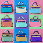 Artwork by Brian Nash, Kelly Bags, available from Zatista.com