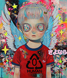 Artwork by Hikari Shimoda at Corey Helford Gallery in Los Angeles