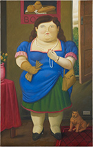 Artwork by Fernando Botero available from Art Of The World Gallery in Houston