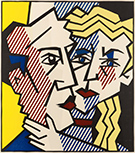 Artwork by Roy Lichtenstein on display at Leslie Sacks Gallery in Santa Monica, CA, March 5 - Apr 15, 2017
