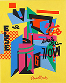 Stuart Davis exhibition at National Gallery of Art in Washington, DC, April 1 - August 6, 2017