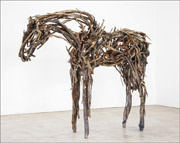 Horse sculpture by Deborah Butterfield at Zolla / Lieberman Gallery in Chicago, May 16th - August 21st, 2014