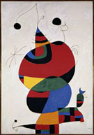 Artwork by Miro on exhibition at Seattle Art Museum, February 13 - May 26, 2014