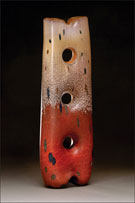 Glass by Peter Wright available from Kuivato Gallery in Sedona, Arizona