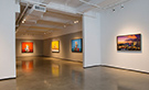 Interior view of Bernarducci Meisel Gallery located in New York, NY