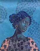 Artwork by Delita Martin in Building Bridges, Love, Identity and Race at Galerie Myrtis in Baltimore, May 13 – July 1, 2017