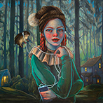 Artwork by Lori Nelson on exhibition at Corey Helford Gallery in Los Angeles, May 6 - June 3, 2017