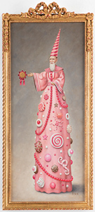 Artwork by Mark Ryden on exhibition at Paul Kasmin Gallery in New York May 20 - July 21, 2017