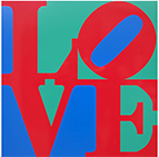 Robert Indiana, Now and Then at The Baker Museum, Napels, FL, November 30 - May 3, 2017