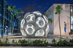 Miami Design District, Buckminster Fuller's Fly's Eye Dome