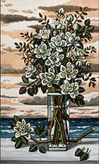 Artwork by David Bates at Berggruen Gallery in San Francisco