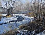 Artwork by Jeff Troupe available from Persimmon Gallery in Big Fork, MT, 021818