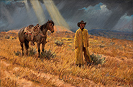 Artwork by Joe Beeler on exhibition at Western Spirit: Scottsdale's Museum of the West, January 16 - Oct 28, 2018
