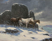 Artwork by Olaf Carl Wieghorst available from Thomas Nygard Gallery in Bozeman, MT, 021818