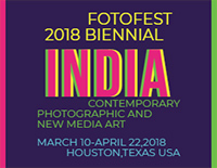 FotoFest 2018 Biennial in Houston, Texas, March 10 to April 22, 2018