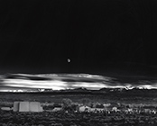 Photograph by Ansel Adams on exhibition at the New Mexico Museum of Art in Santa Fe, through October 7, 2018