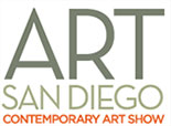 Art San Diego 2018 logo, runs October 18 - 21, 2018, in San Diego, CA, 090518