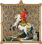 Artwork by Kehinde Wiley in 30 Americans on exhibition at Tucson Museum of Art, October 6 - January 13, 2019, 092418