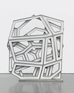 Artwork by Richard Deacon on exhibition at L.A. Louver, Venice, CA, Sept 6 - October 20, 2018, 090518