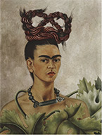 Self-portrait by Frida Kahlo: on exhibition at Brooklyn Museum, February 8 - May 12, 2019, 022119