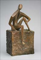 Thought, sculpture by David Unger